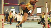 Oleg of Ukraine still gets credit for world and Euro medals despite doping suspension.