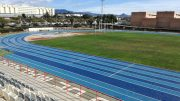 University of Malaga's two-tone Mondo track will hos