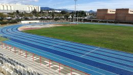 University of Malaga's two-tone Mondo track will hos