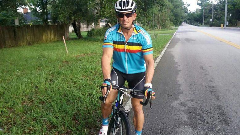 Scott Gross of Jacksonville, Florida, says he won't stop riding despite 4-year suspension for refusing drug test.