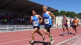 José Vicente Rioseco (the tall gent) scorched a 1500 at the Galacian masters championships.