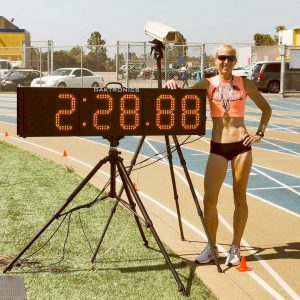 Sue McDonald went from hep to high jump to marathon to 800 record-holder.