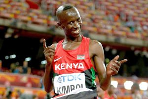 Olympic champion Ezekiel Kemboi is set for the M35 steeple at Malaga.