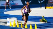 "Bernard ""Kip"" Lagat, shown in 2010 Berlin race, is listed M40 WR man but still doesn't hold listed American record."