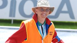 Carroll DeWeese, shown at 2009 Lahti worlds, is our treasurer and newly minted WMA delegate.
