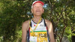 Sadao Tabira left Malaga with three silvers medals at M85 distances, but also DNS 14 times in the final results.