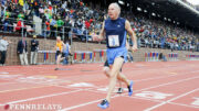 Dick Camp excelled at the Penn Relays, where he took part in the popular old-guys 100-meter dash.