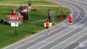 Dan King guts his way to American record M60 mile at Five and Dime meet in Columbia, South Carolina.