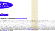 My primordial site was based on HTML coding stolen from ESPN's website. It looks better nowadays.