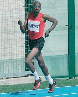 Ralph ran sprints into his late 70s.